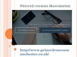 Best Prince2 courses and Training Manchester