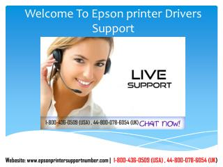 Epson Printer Driver Support Number | 1-800-436-0509