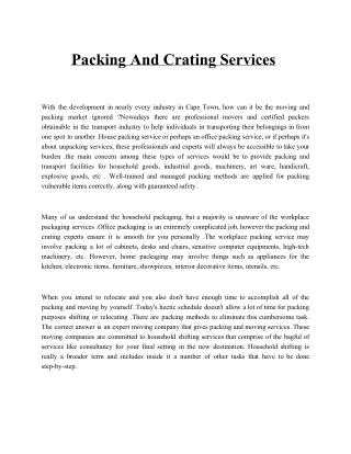 Packing and Crating Service.pdf