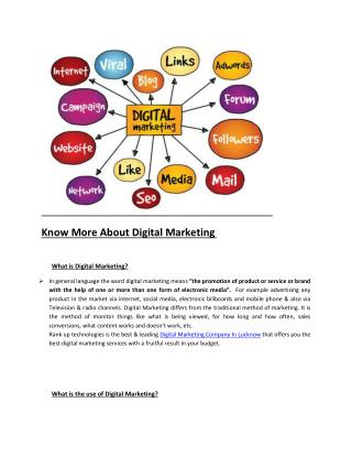 Book On Digital Markting