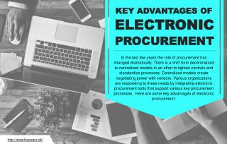 The various benefits of electronic procurement for businesses