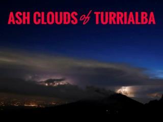 Ash clouds of Turrialba