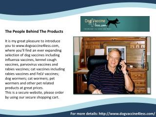 Dog Vaccine 4 Less USA