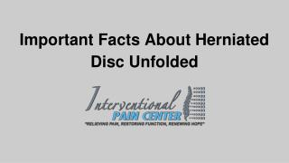 Herniated Facts You Must Know | Interventional pain center