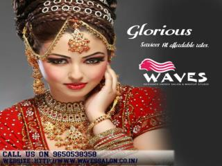 Irritated by no long capable hold makeup,Waves makeup salon offering glorious services at very low cost.