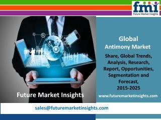 Antimony Market Revenue and Key Trends 2015-2025
