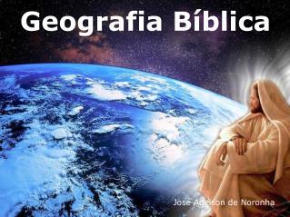 Geografia B blica