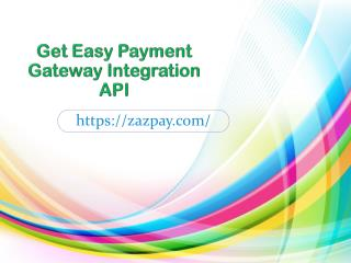 Get Easy Payment gateway Integration API