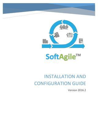 Installer Help Guide for JamBuster's SoftAgile Build for Agile Development Methodology