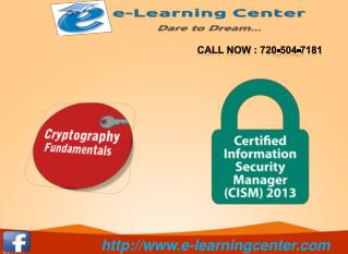 Security Certifications Courses  - e-learningcenter