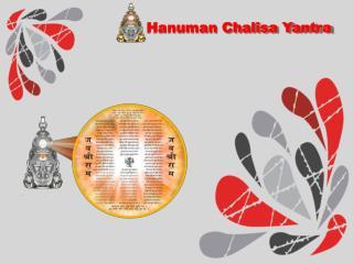Hanumaan Chalisa Yantra