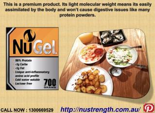 Australia Gelatin - Nugel Collagen Peptide Benefits