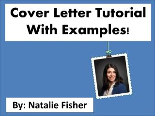Cover LetterTutorial