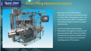Powder Fillers Machines & Parts