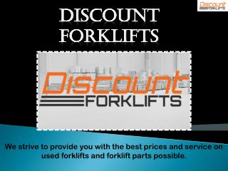 Forklifts in miami
