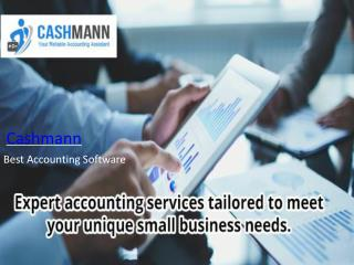 Practice Cashmann software to get rid of book-keeping