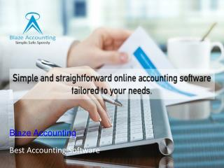Online accounting service  – Blaze Accounting