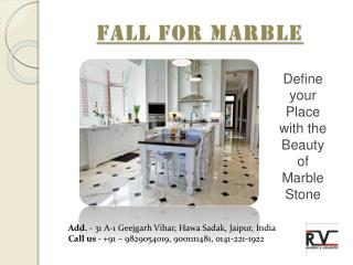 Home Decor Ideas with marble stones