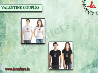 Cute Couples Shirts India, Funny T Shirts Online India
