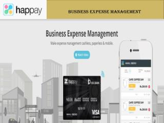 Business Expense Management Solution