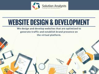 Website Development Company India, Hire Web Developers, Web App Development-Solution Analysts