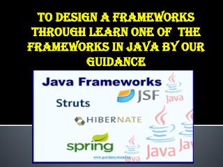Java Training Institutes in chennai