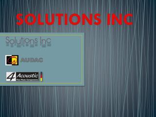 solutions inc wall speakers