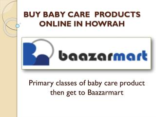 buy baby care products in Howrah