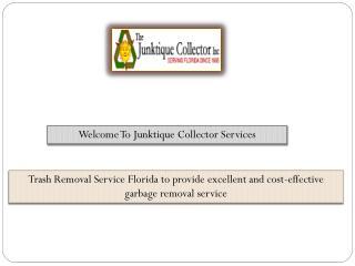 Trash Removal Service Florida  - junctiquecollector