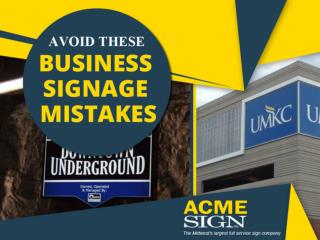 Common Business Sign Mistakes to Avoid
