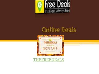 Online Deals in Chandigarh