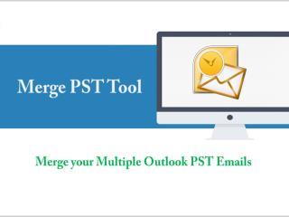 Merge PST Tool