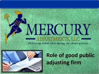 Find best Insurance Adjusters