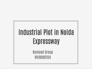 Industrial Plot in Noida Sale 9910000359