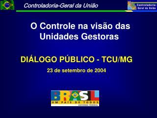 DI LOGO P BLICO - TCU