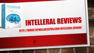 Intelleral Reviews - Top Wellness Pro