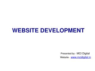 Website Development Company in Delhi, Web Designing Services