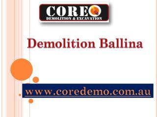 Demolition Ballina - coredemo.com.au
