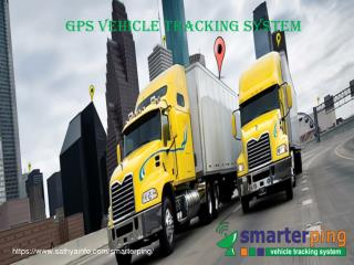 GPS Vehicle Tracking Device Provider - Smarterping