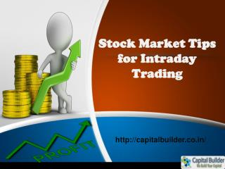 Stock Market Tips and Tricks | Capital Builder
