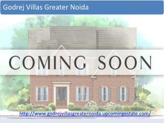 Godrej Villas Greater Noida