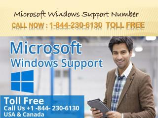 Microsoft windows support number 1 844 230 6130 usa