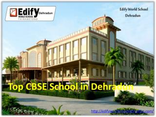Top CBSE School in Dehradun