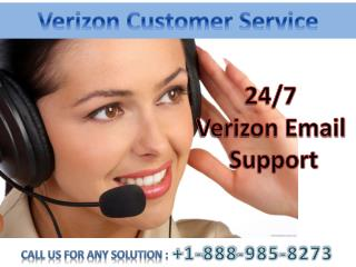 Verizon Customer Service 1-888-985-8273