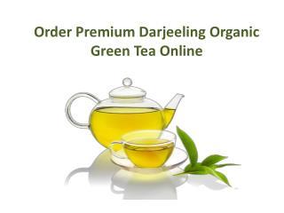 Order Premium Darjeeling Organic Green Tea Online