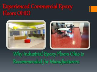 Experienced Commercial Epoxy Floors OHIO