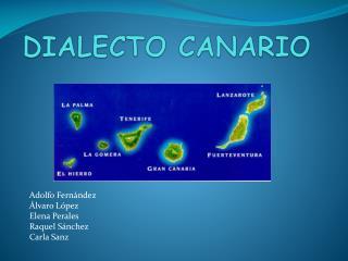 DIALECTO CANARIO