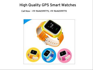 High Quality GPS Smart Watches