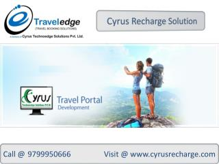 Cab Booking  API- Cyrus Recharge Solution