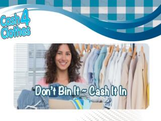 AK Cash 4 Clothes - Cash for Clothes Throughout United Kingdom
